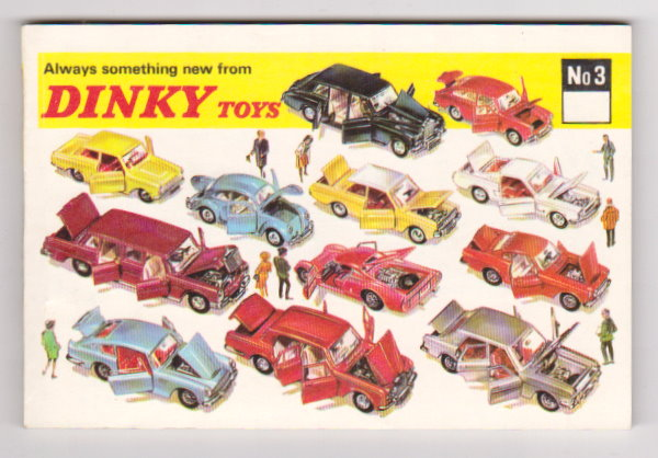 Image for Dinky Toy Catalog No. 3 :  Number 3, 1967, Canadian Edition
