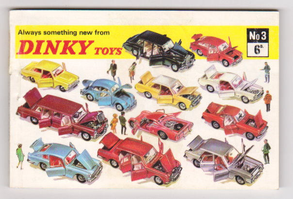 Image for Dinky Toy Catalog No. 3 :  Number 3, 1967, UK Edition