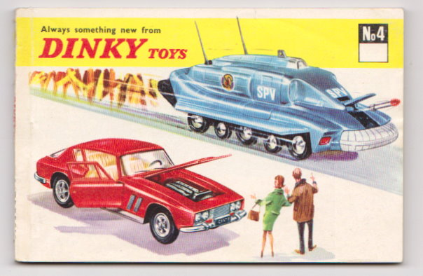 Image for Dinky Toy Catalog No. 4 :  Number 4, 1968, International Edition