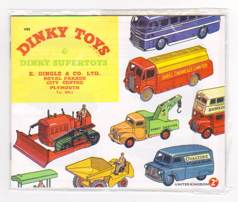 Image for Dinky Toy Catalog 1955 :  Dinky Toys and Dinky Supertoys, UK Edition, Reproduction