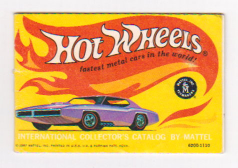 Image for Hot Wheels, Fastest Metal Cars in the World :  1967 International Collector's Catalog by Mattel