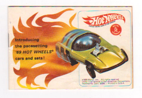 Image for Hot Wheels, Fastest Metal Cars in the World :  1968 Introducing the Pacesetting '69 Hot Wheels Cars and Sets
