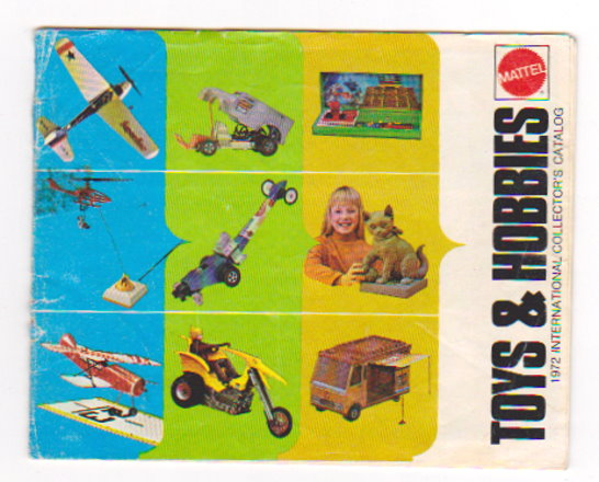 Image for Mattel Hot Wheels, Toys and Hobbies :  1972 International Collectors Catalog