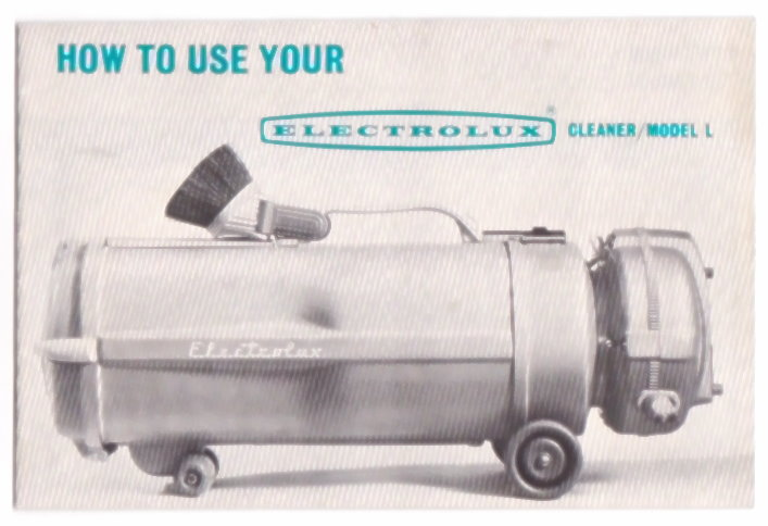 Image for How to Use Your Electrolux Cleaner Model L