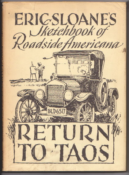 Image for Return to Taos :  Eric Sloane's Sketchbook of Roadside Americana