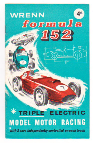 Image for Wrenn Formula 152 :  Triple Electric Model Motor Racing (Slot Cars, Track Cars)