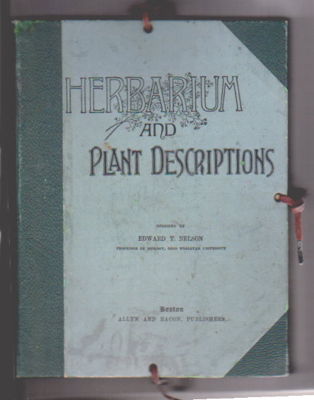 Image for Herbarium and Plant Descriptions :  Album with Botanical Specimens and Manuscript Notes