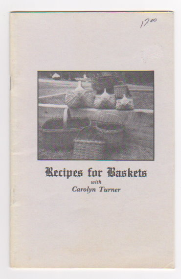 Image for Recipes for Baskets