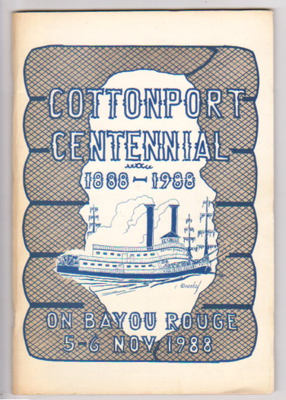 Image for Cottonport Centennial :   (Louisiana History) 1888-1988