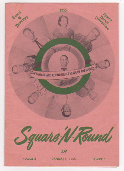 Image for Square N Round :  The Square and Round Dance News of the World, January 1955