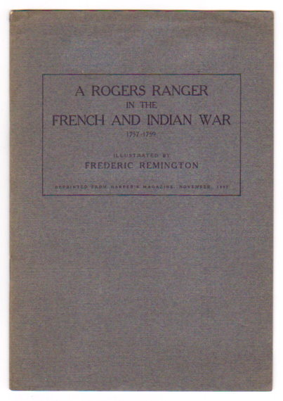 Image for Rogers Rangers in the French and Indian War, a :  1757-1759