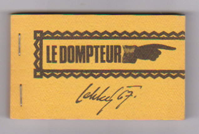 Image for Dompteur, Le :  La Cinematheque Canadienne Flip Book