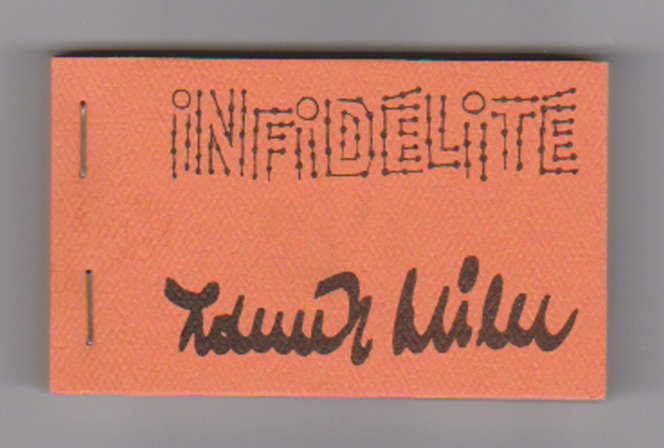 Image for Infidelite :  La Cinematheque Canadienne Flip Book