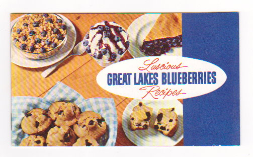 Image for Luscious Great Lakes Blueberries :  Recipes