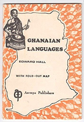 Image for Ghanaian Languages :  With Fold-Out Map (Ghanian Languages)