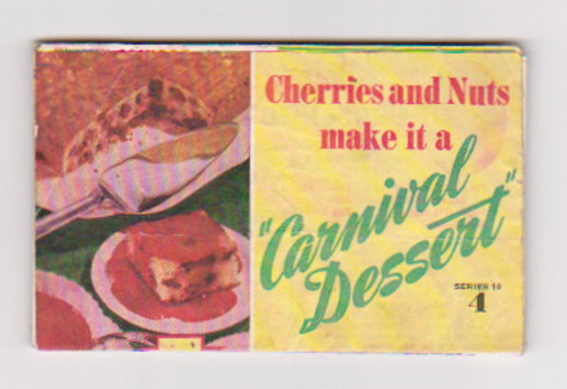 Image for Betty Crocker :  Cherries and Nuts Make it a Carnival Dessert