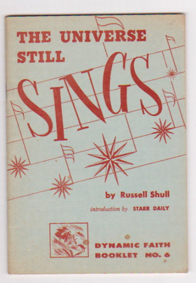 Image for Universe Still Sings, the :  With Notes on Creative Writing