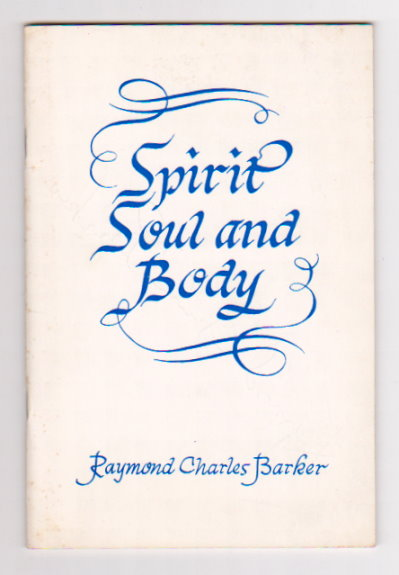 Image for Spirit, Soul and Body :   (Signed) Three Sunday Morning Sermons