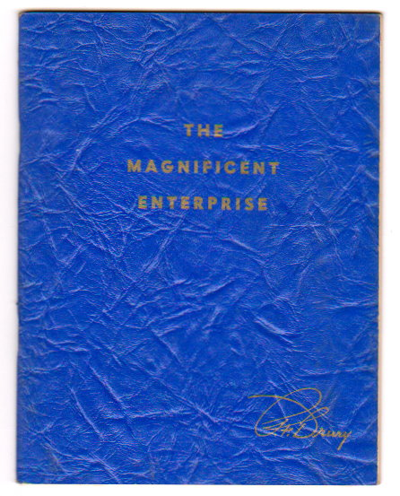 Image for Magnificent Enterprise, the :  A New Cosmic Revelation Disclosing the Secret of Obtaining Inner Wisdom