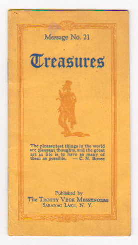 Image for Treasures, Message Number 21 :  Trotty Veck Messengers