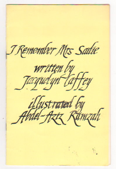 Image for I Remember Mrs. Sadie