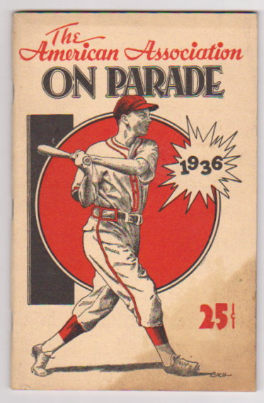 Image for American Association on Parade, the :  1936, Thirty-Fifth Anniversary Edition ( American Association of Professional Baseball Clubs)
