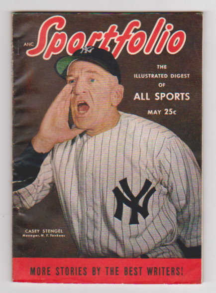 Image for Sportfolio, the Illustrated Digest of all Sports :  Volume 3, Number 9, May 1949, Casey Stengel