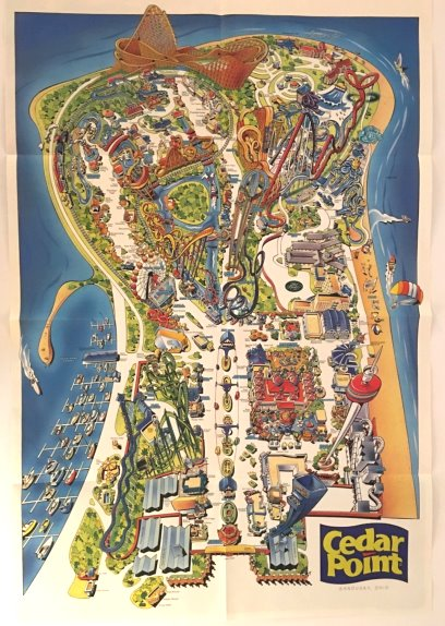 Image for Cedar Point Fun Guide 1997 :  Your Map for Fun