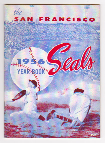 Image for San Francisco Seals Year Book :  1956