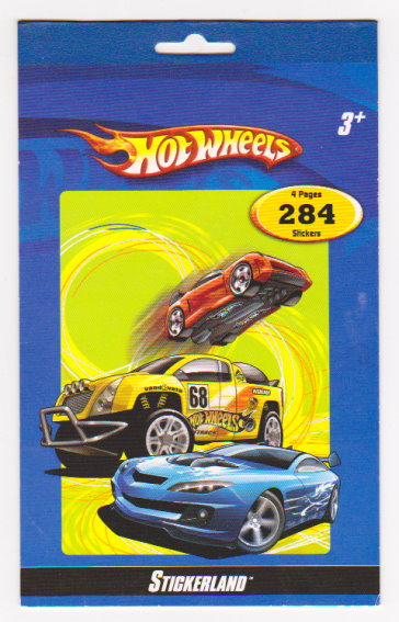 Image for Hot Wheels :  Stickerland
