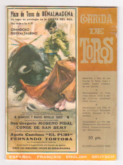 Image for Corrida de Toros :  142 Photos and Colour Pictures