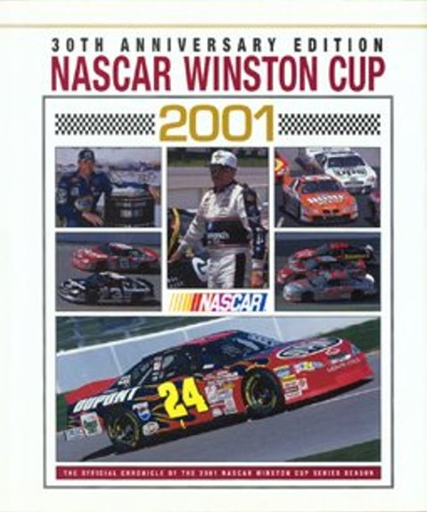 Image for Nascar Winston Cup 2001 :  30th Anniversary Edition, with CD-ROM