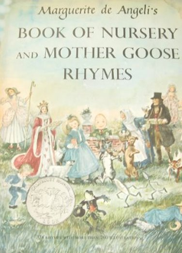 Image for Marguerite de Angeli's Book of Nursery and Mother Goose Rhymes : 376 Rhymes with More than 260 Illustrations