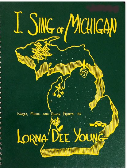 Image for I Sing of Michigan