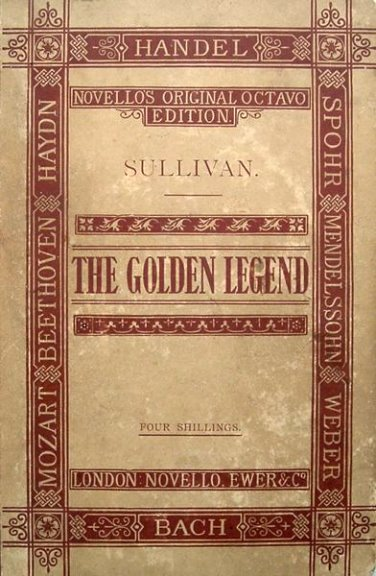 Image for Golden Legend, the :  A Cantata by Arthur Sullivan