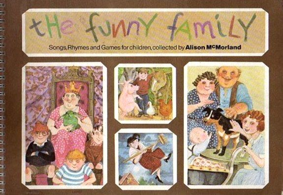Image for Funny Family, the :  Songs, Rhymes, and Games for Children