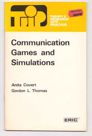 Image for Communication Games and Simulations