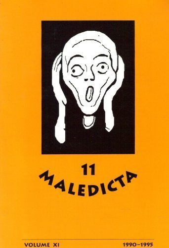 Image for Maledicta 12, the International Journal of Verbal Aggression :  Volume 12, 1996 (Volume XII)