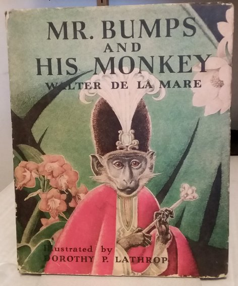 Image for Mr. Bumps and His Monkey :  1e, 1st Edition, 1942