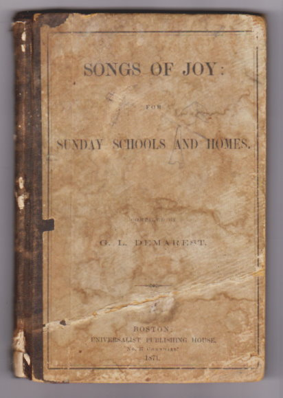 Image for Songs of Joy :  For Sunday Schools and Homes