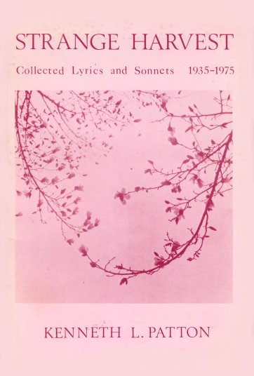 Image for Strange Harvest :  Collected Lyrics and Sonnets, 1935-1975