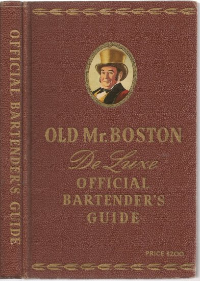 Image for Old Mr. Boston :  De Luxe Official Bartenders Guide