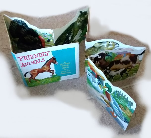 Image for Friendly Animals :  A Playtime Parade of Pets in a Fold-Out Panorama