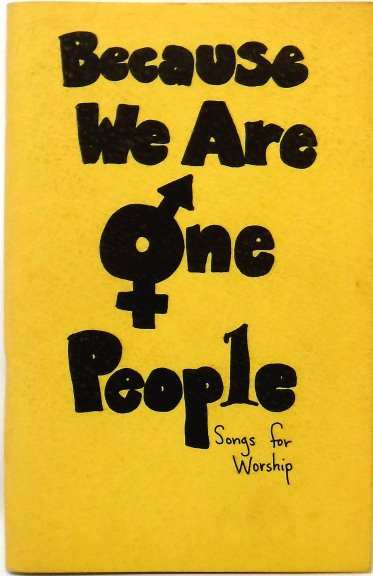Image for Because We Are One People :  Songs for Worship