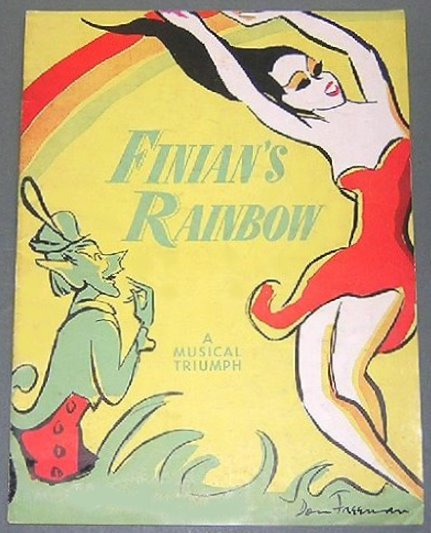 Image for Finian's Rainbow Souvenir Program :  A Completely Captivating Musical Triumph