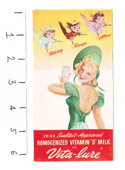 Image for Vita-Lure :  Vitality, Energy, Allure, Sealtest Approved Homogenized Vitamin D Milk