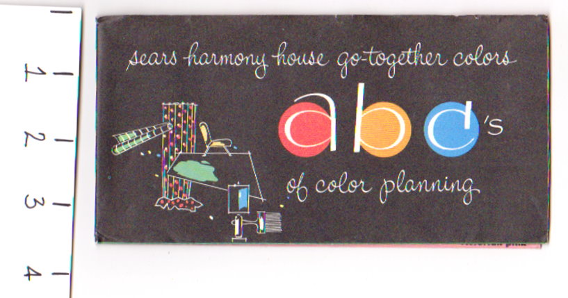 Image for Sears Harmony House Go-Together Colors :  ABCs of Color Planning