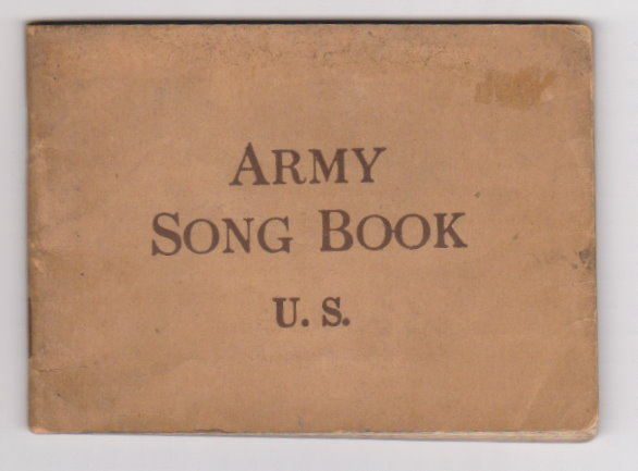 Image for Army Song Book U. S.