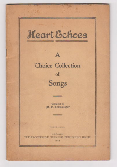 Image for Heart Echoes :  A Choice Collection of Songs (Spiritualist Church)
