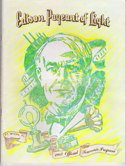 Image for Edison Pageant of Light :  1982 Official Souvenir Program